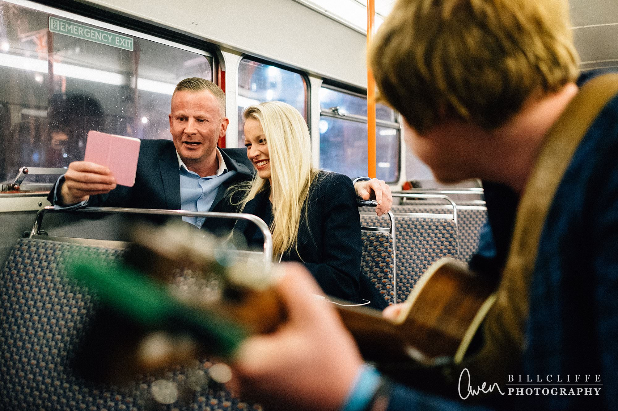 london engagement proposal photographer routemaster RE 006 - When Richard Proposed To Emma on a London Routemaster Bus