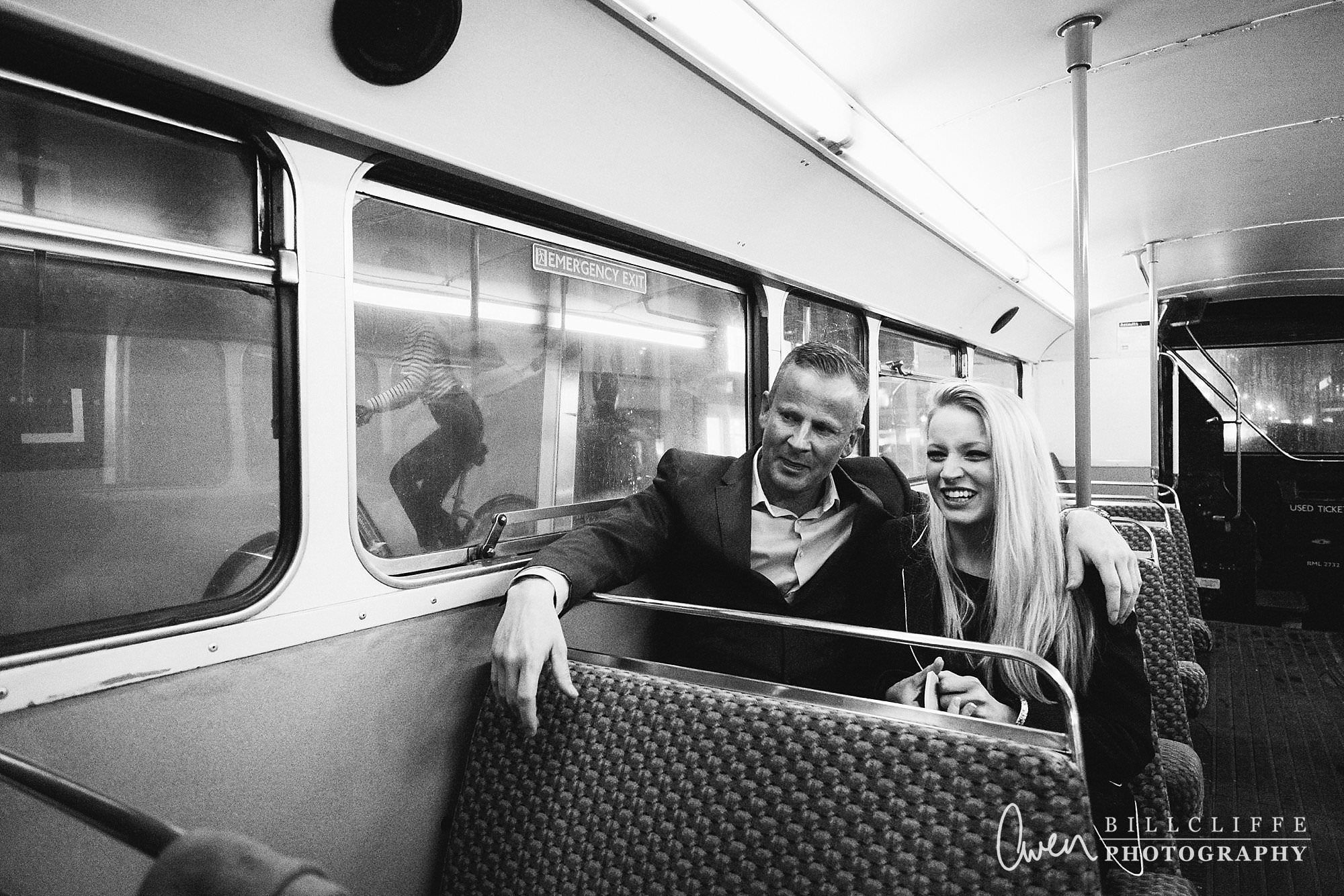 london engagement proposal photographer routemaster RE 013 - When Richard Proposed To Emma on a London Routemaster Bus
