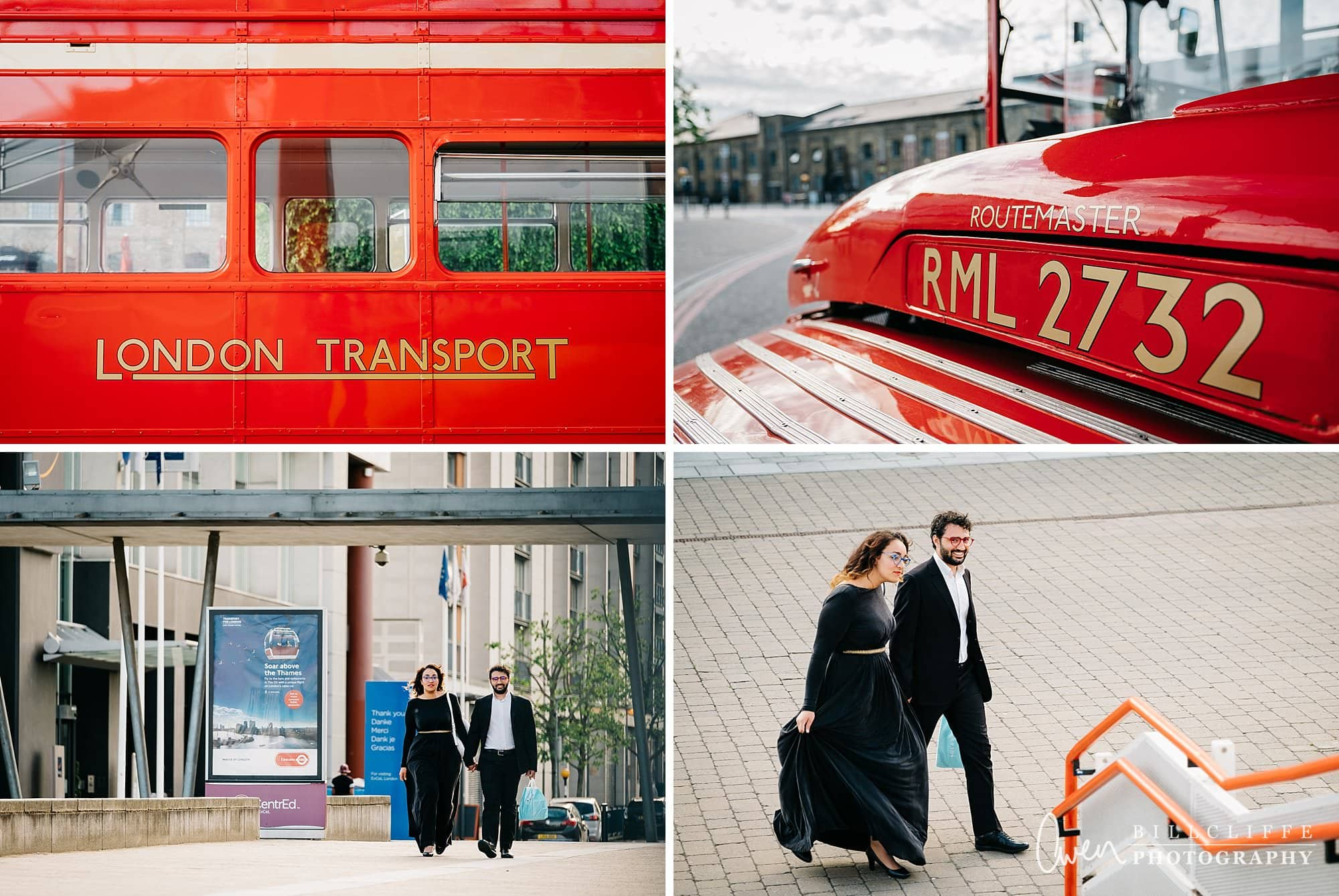 london engagement proposal photographer routemaster gr 002 - A Romantic Marriage Proposal on a London Routemaster Bus