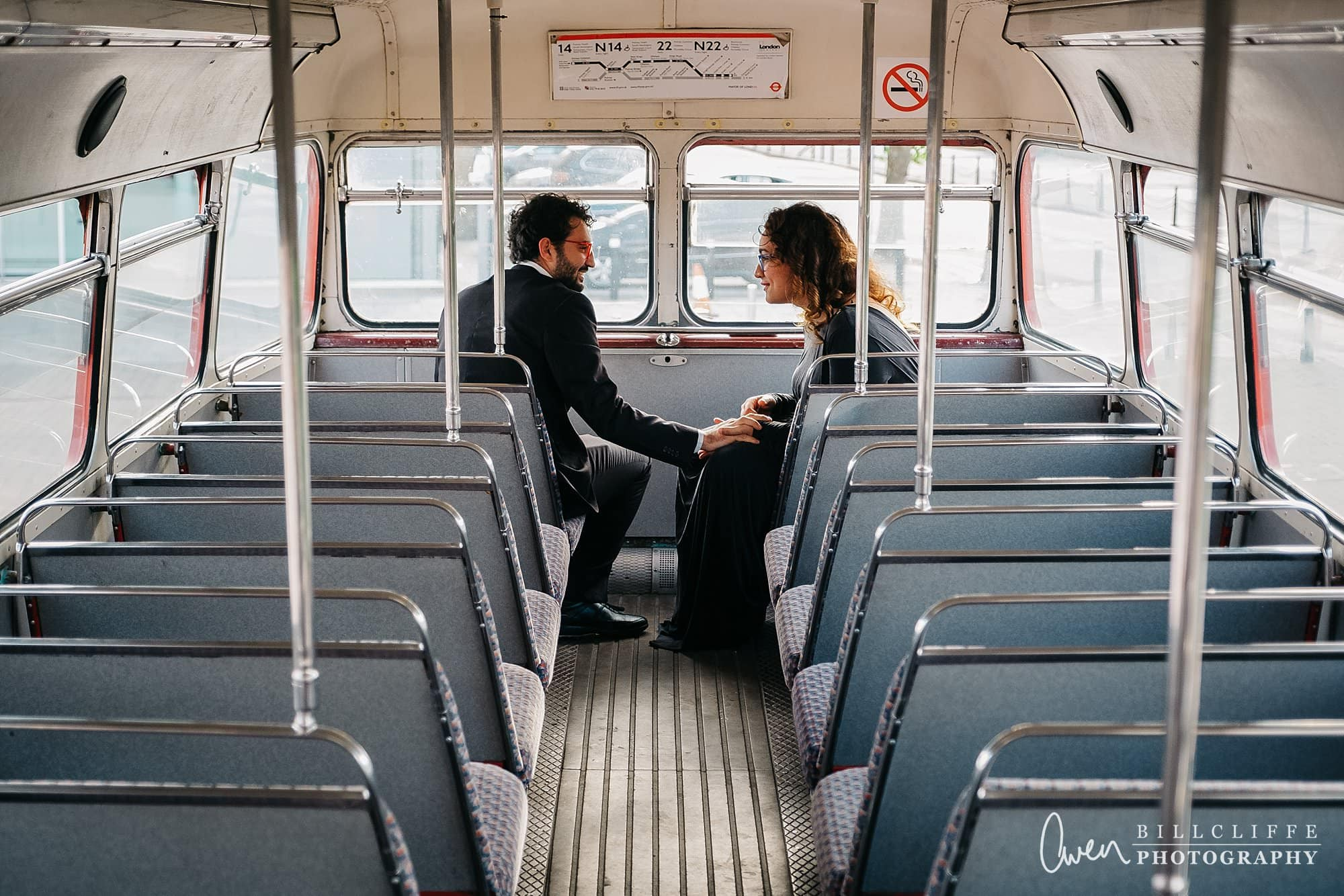 london engagement proposal photographer routemaster gr 003 - A Romantic Marriage Proposal on a London Routemaster Bus
