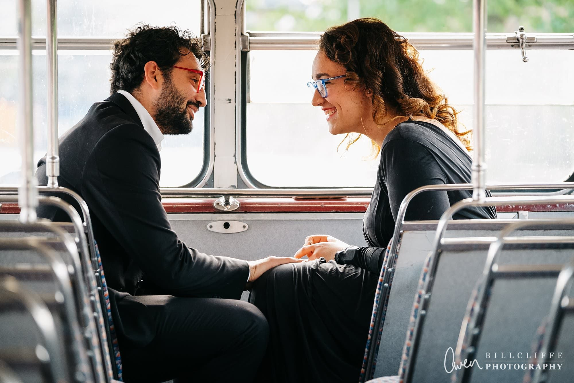 london engagement proposal photographer routemaster gr 004 - A Romantic Marriage Proposal on a London Routemaster Bus
