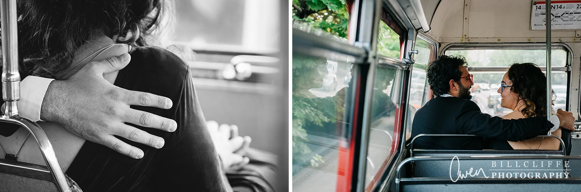 london engagement proposal photographer routemaster gr 005 - A Romantic Marriage Proposal on a London Routemaster Bus