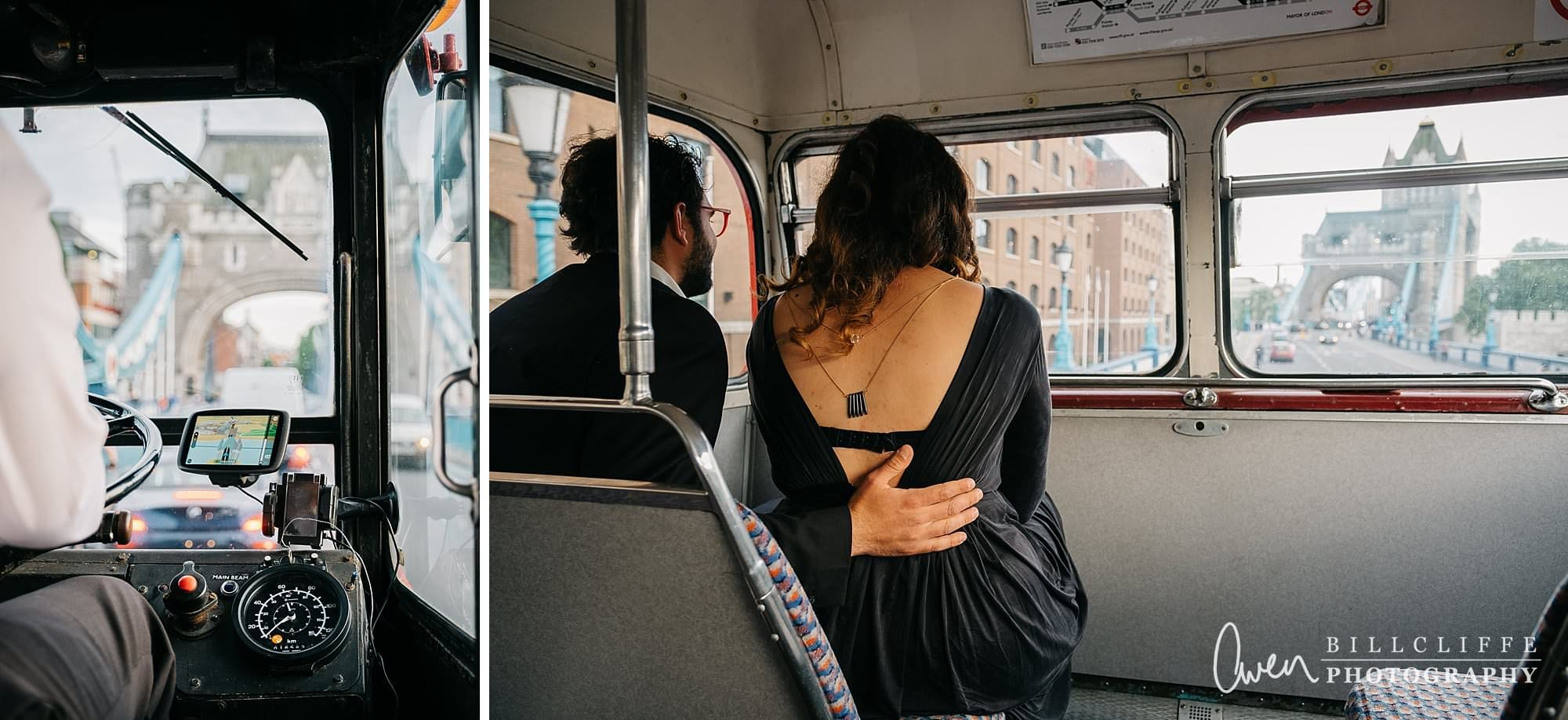 london engagement proposal photographer routemaster gr 006 - A Romantic Marriage Proposal on a London Routemaster Bus
