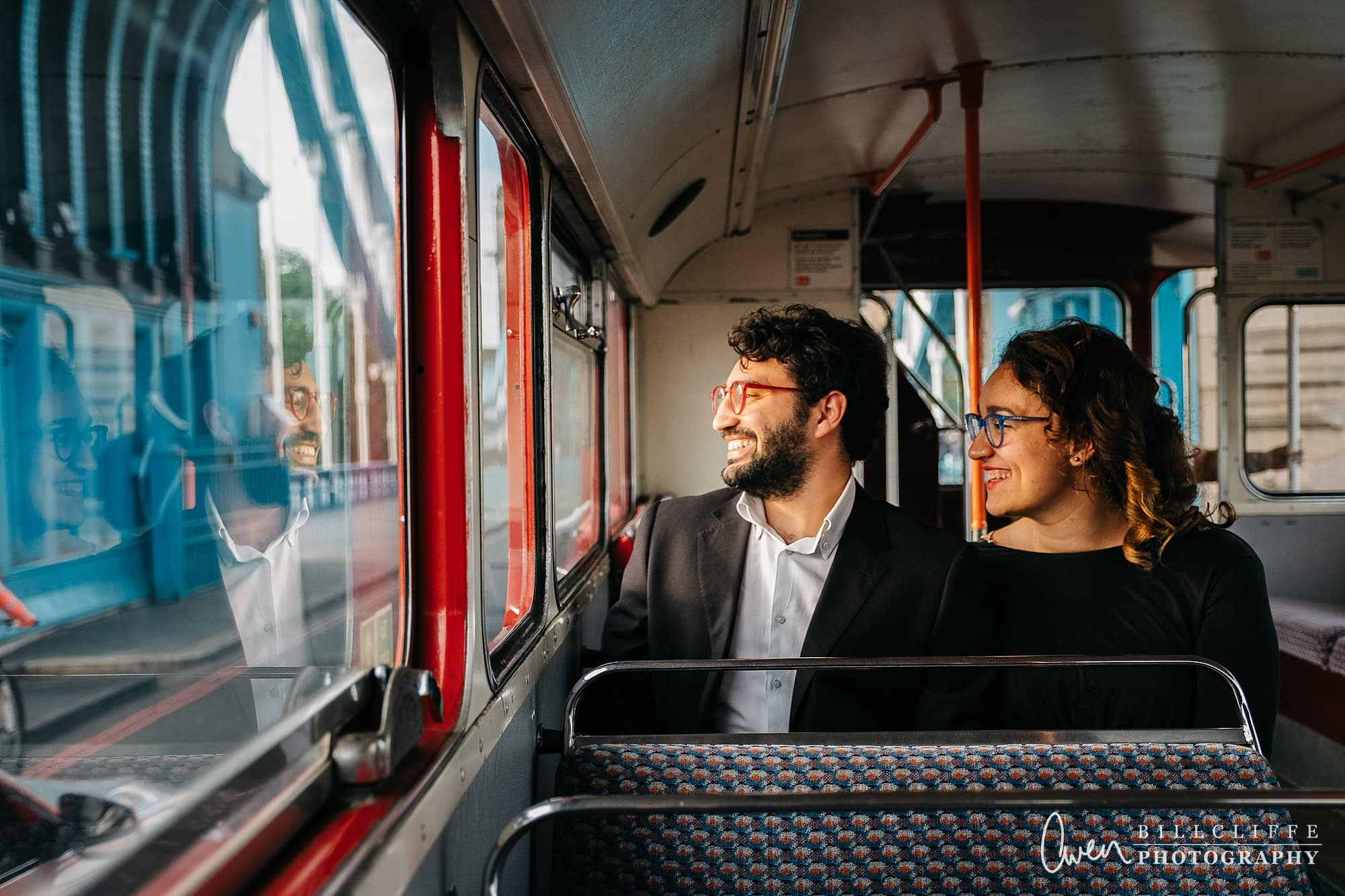 london engagement proposal photographer routemaster gr 009 - A Romantic Marriage Proposal on a London Routemaster Bus