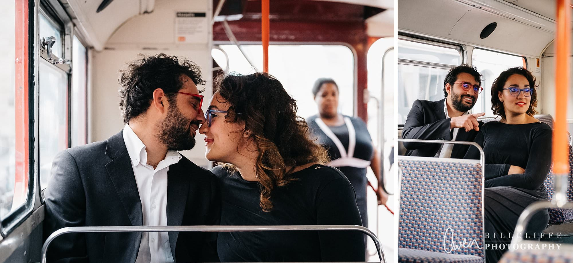 london engagement proposal photographer routemaster gr 010 - A Romantic Marriage Proposal on a London Routemaster Bus