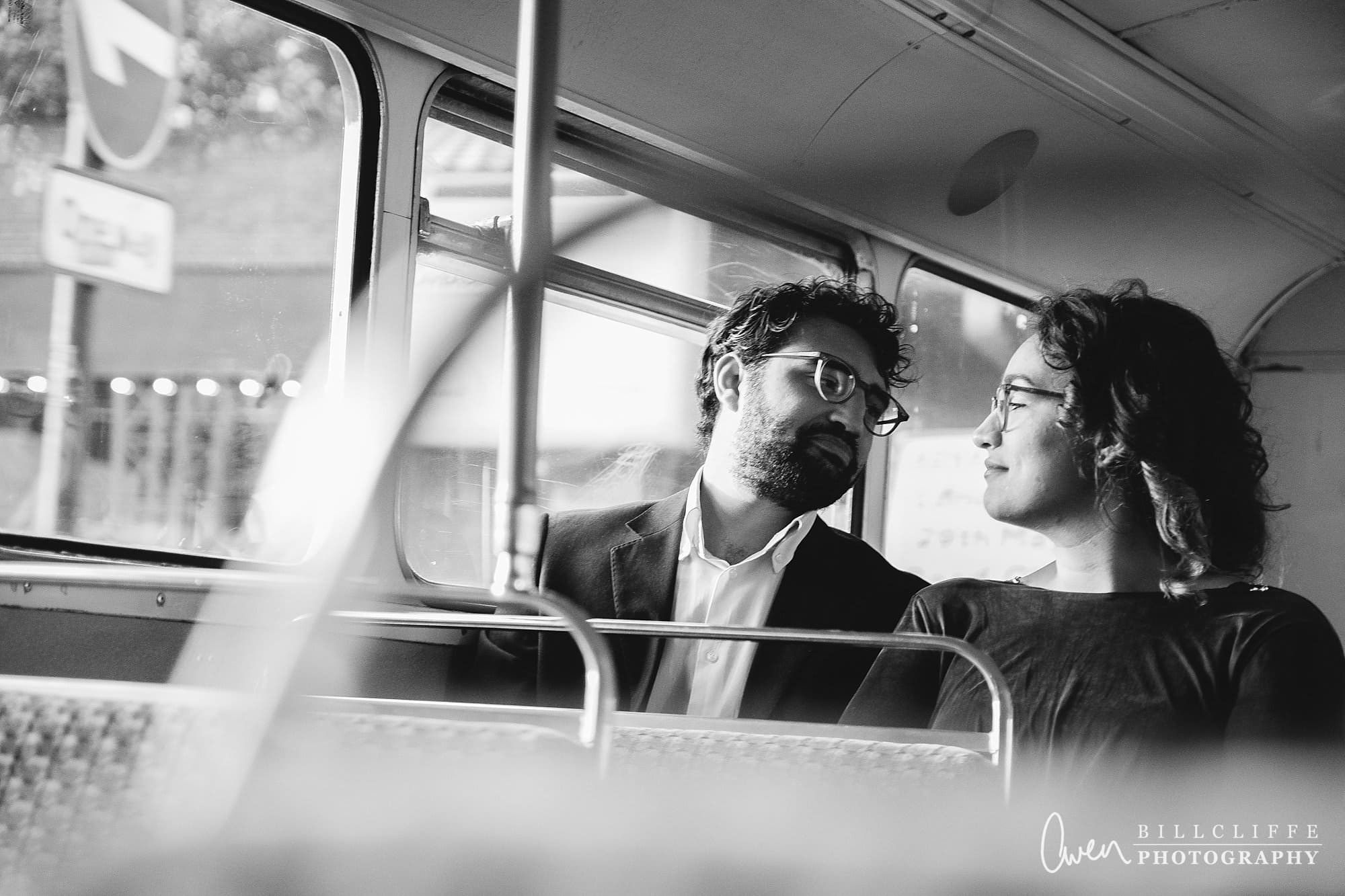 london engagement proposal photographer routemaster gr 011 - A Romantic Marriage Proposal on a London Routemaster Bus