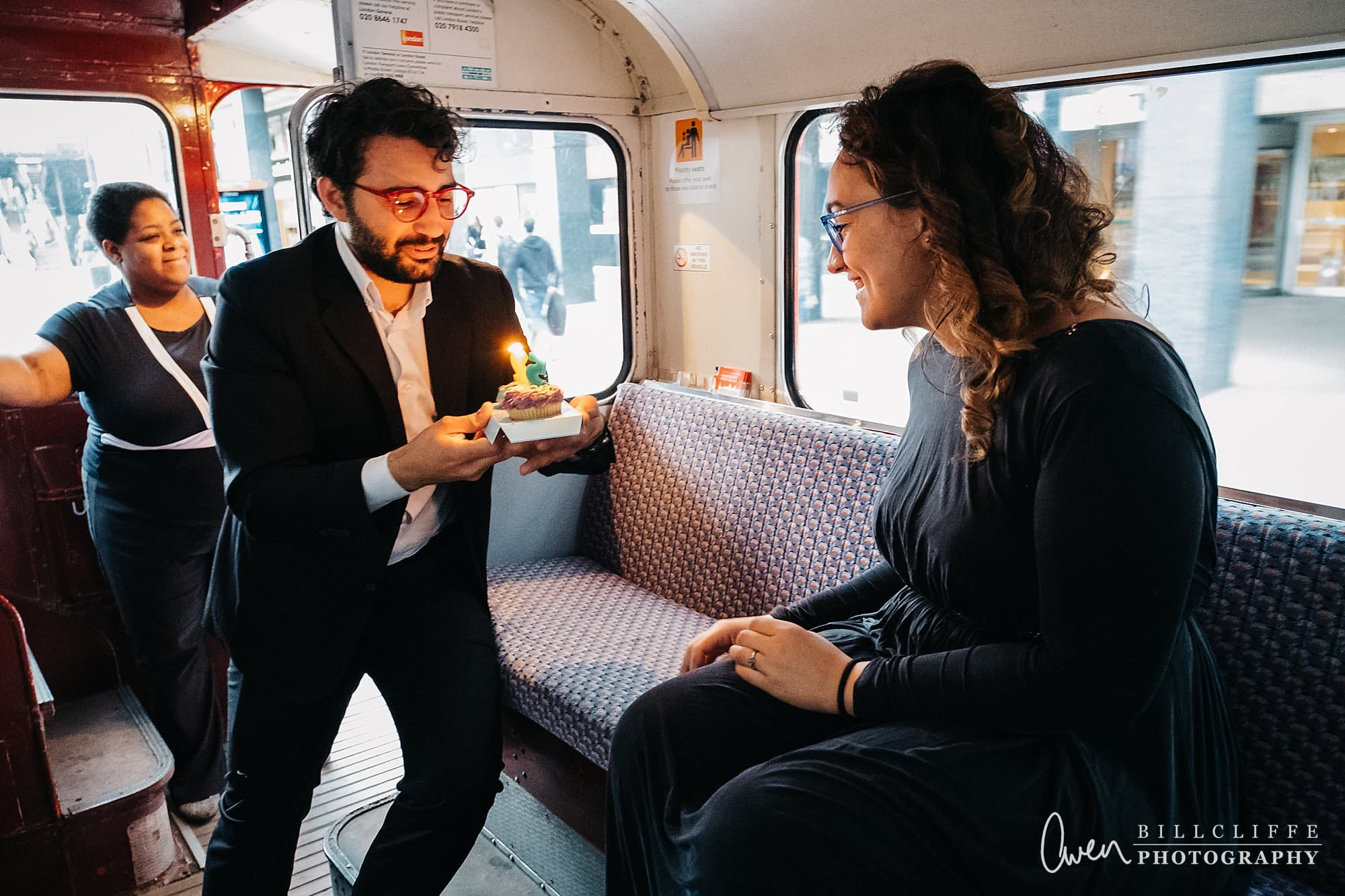 london engagement proposal photographer routemaster gr 017 - A Romantic Marriage Proposal on a London Routemaster Bus