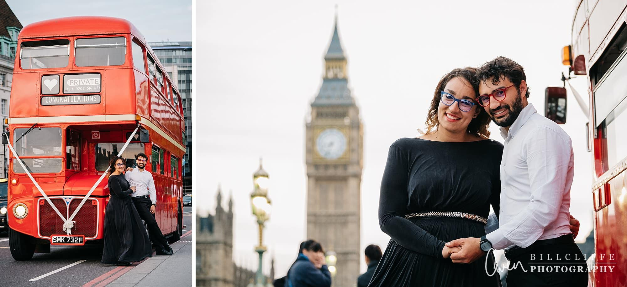 london engagement proposal photographer routemaster gr 029 - A Romantic Marriage Proposal on a London Routemaster Bus