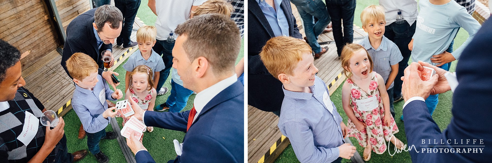 london wedding photographer magician lee smith 007 - Event Entertainer Spotlight: Lee Smith, Walkabout Magician
