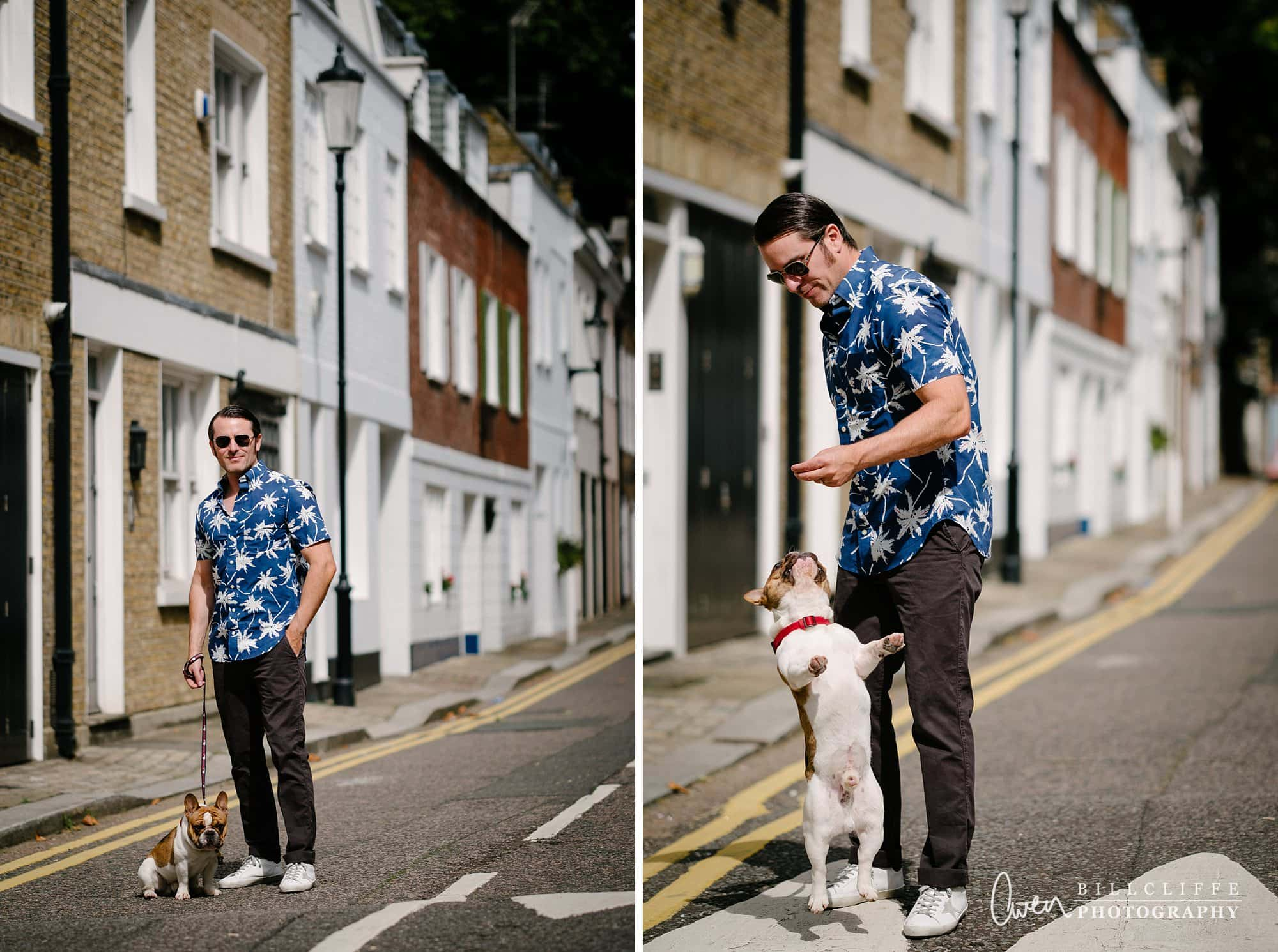 pet dog photographer london belgravia 004 - Monty & Josh | One Man And His Dog