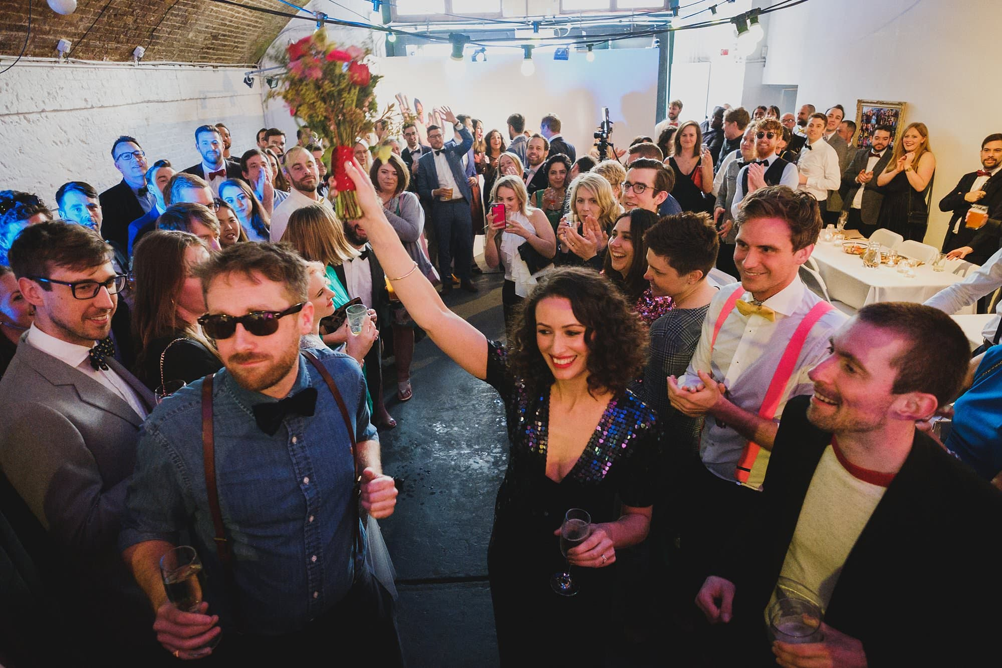london party photographer hoxton arches 007 - An Elopement Reception at Hoxton Arches