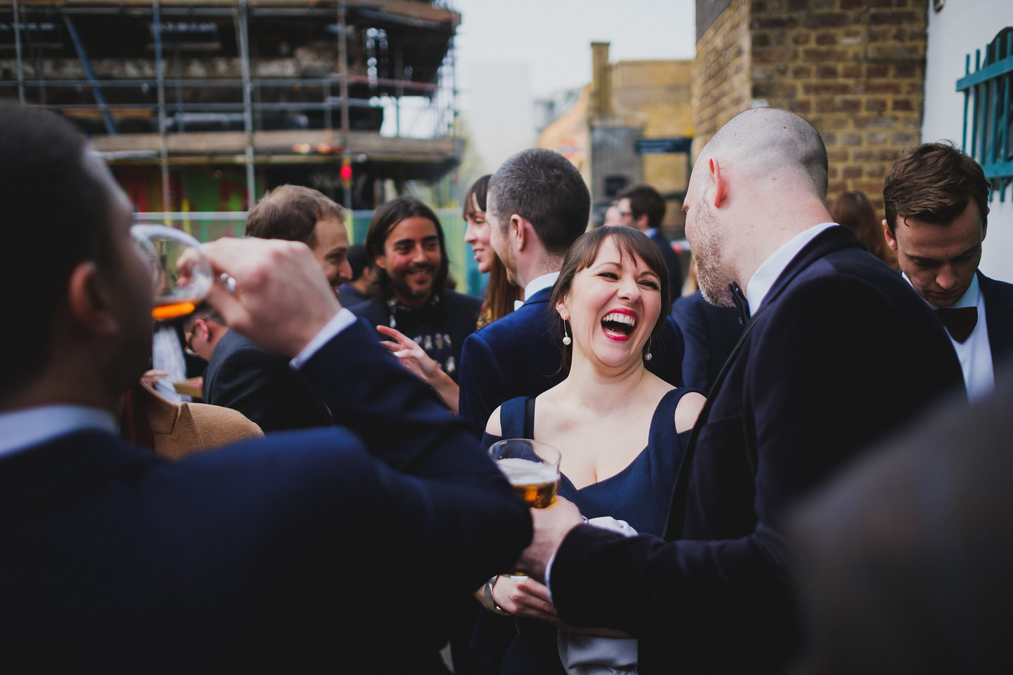 london party photographer hoxton arches 013 - An Elopement Reception at Hoxton Arches