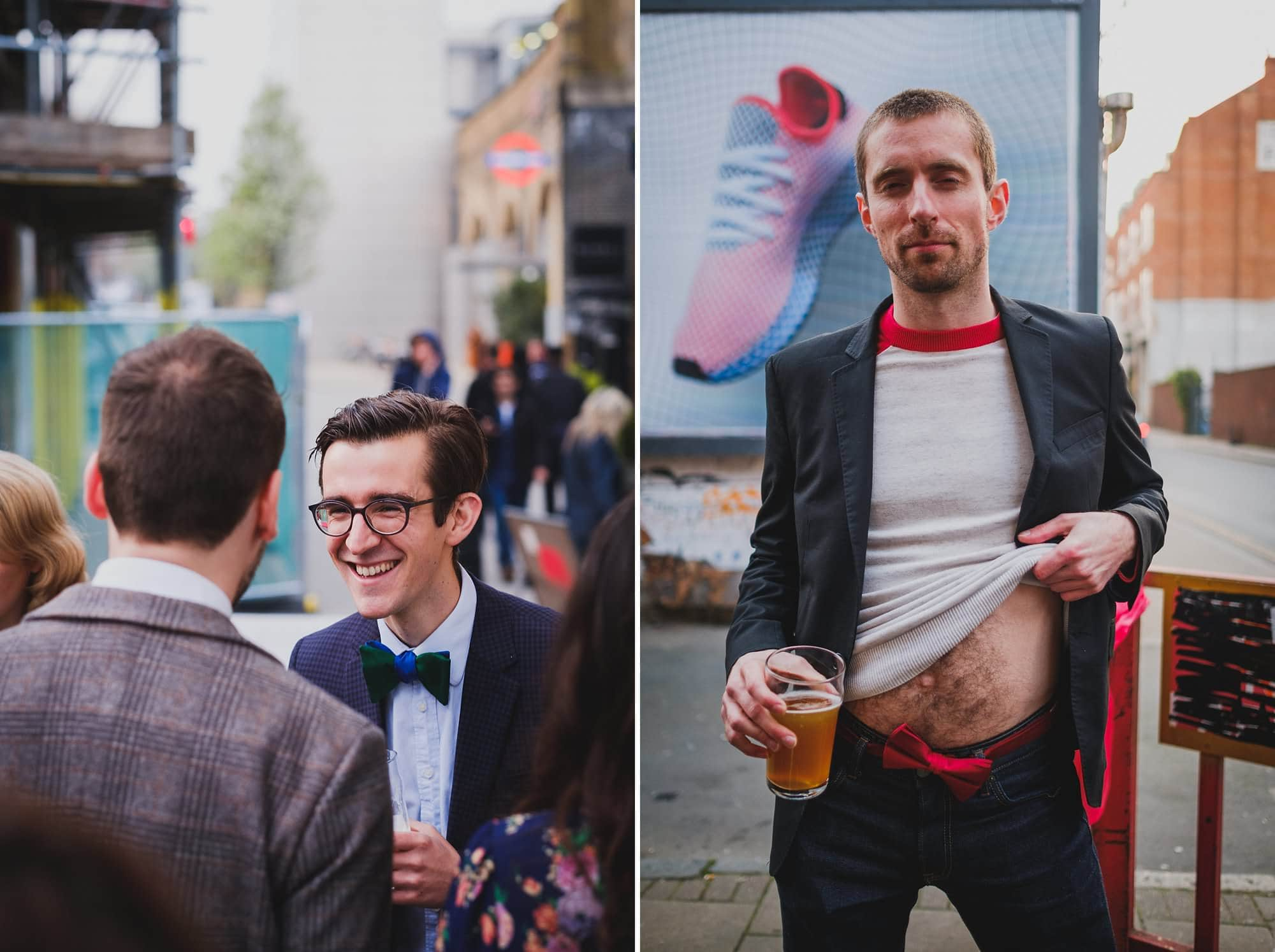 london party photographer hoxton arches 016 - An Elopement Reception at Hoxton Arches
