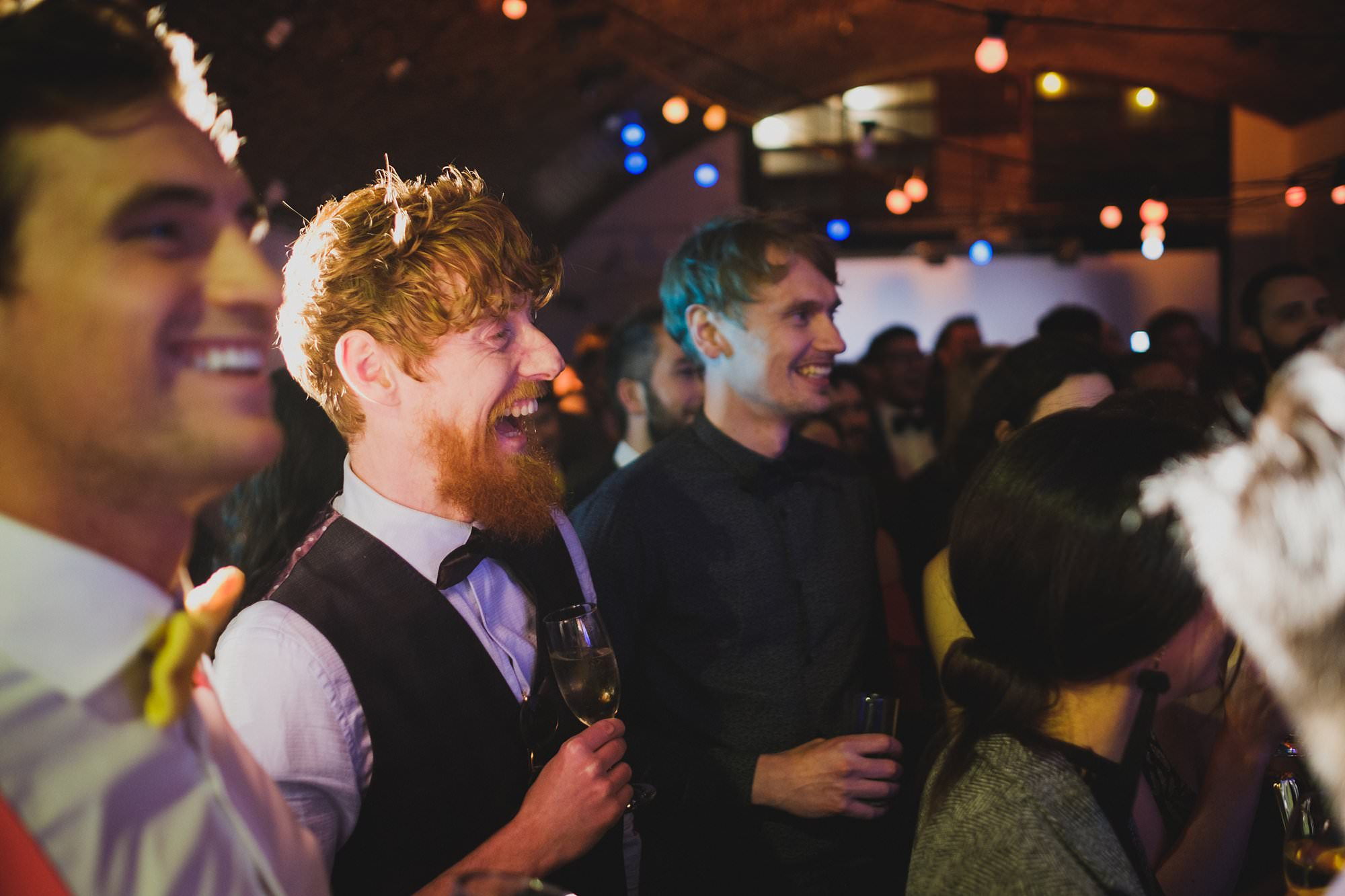 london party photographer hoxton arches 023 - An Elopement Reception at Hoxton Arches