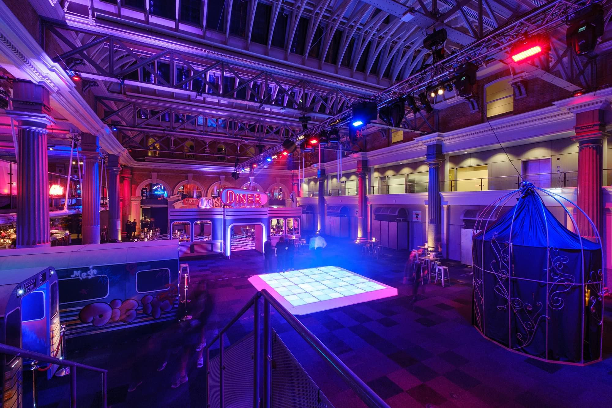 london event photographer old billingsgate delicious 004 - A Corporate Party at Old Billingsgate