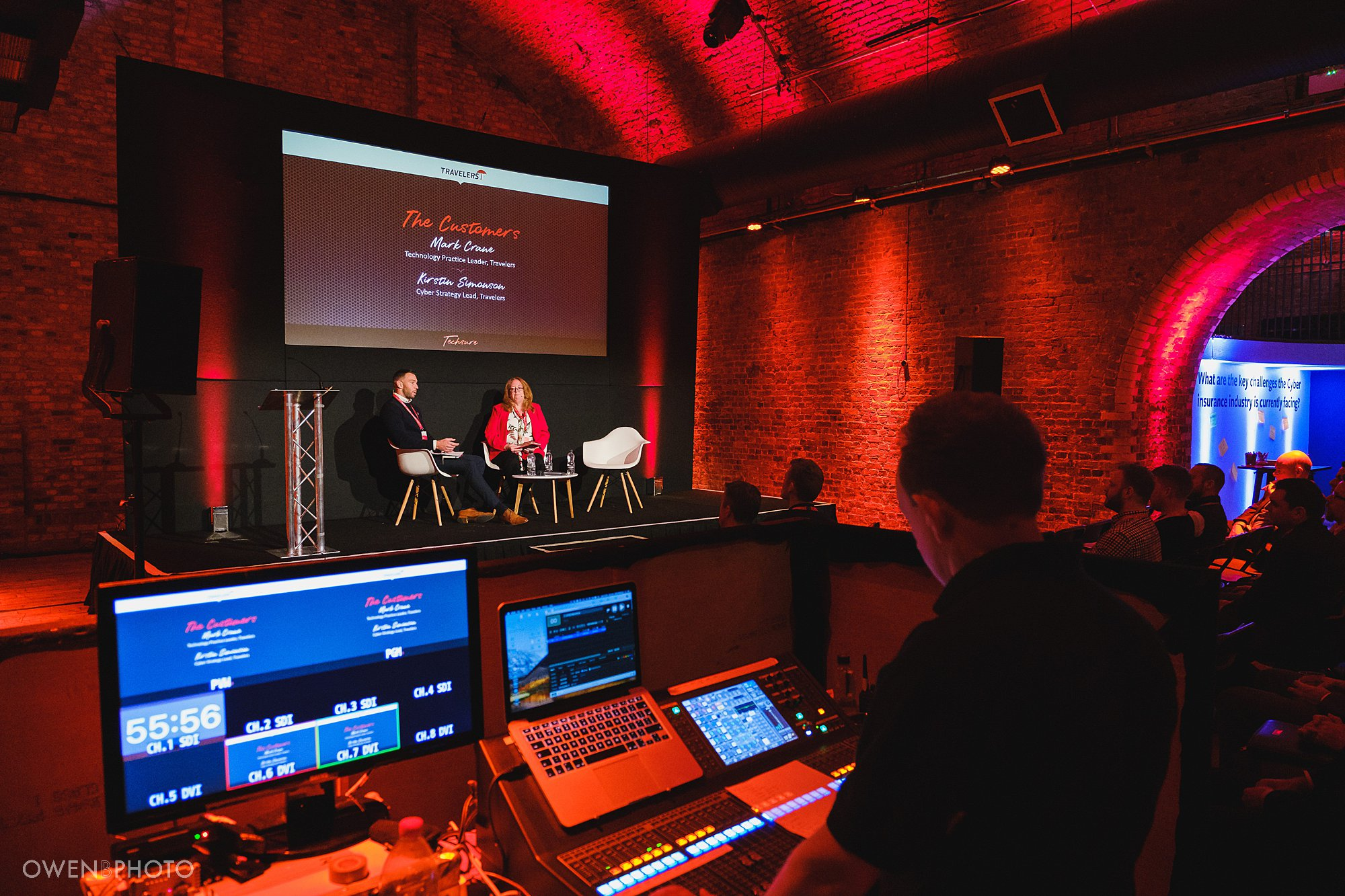 behind the scenes of a corporate conference at the steelyard in london