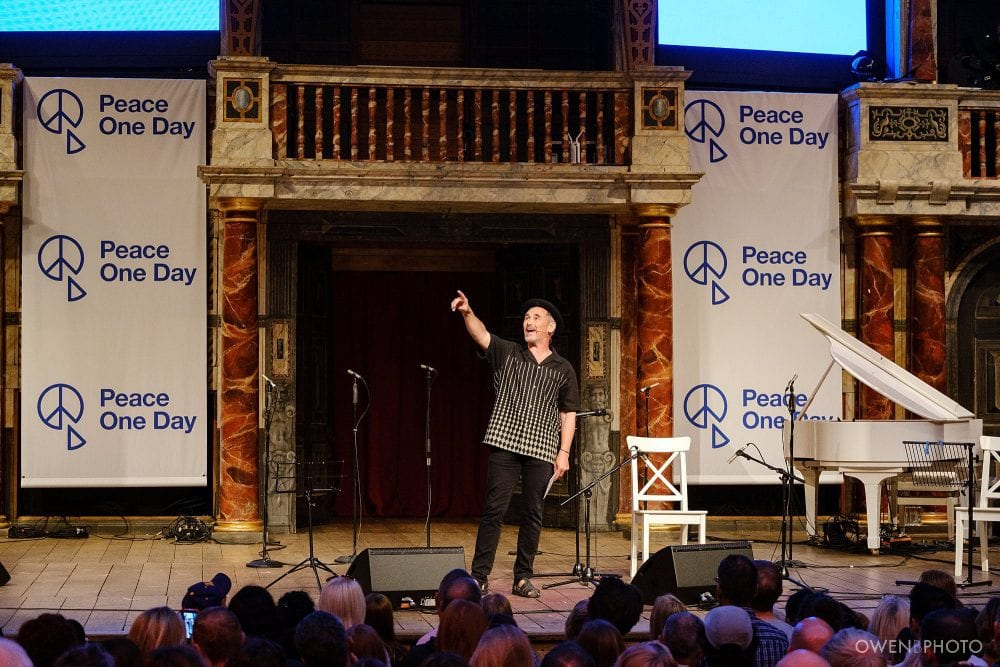 london concert photographer globe theatre peace one day 021 1000x667 - Peace One Day 2019 at The Globe