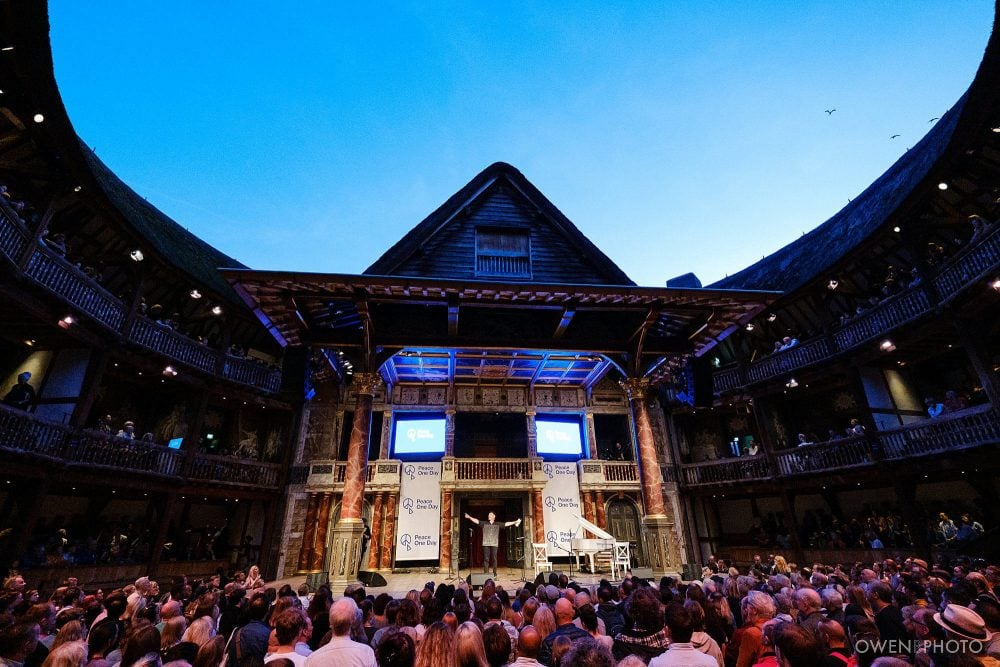 london concert photographer globe theatre peace one day 022 1000x667 - Peace One Day 2019 at The Globe
