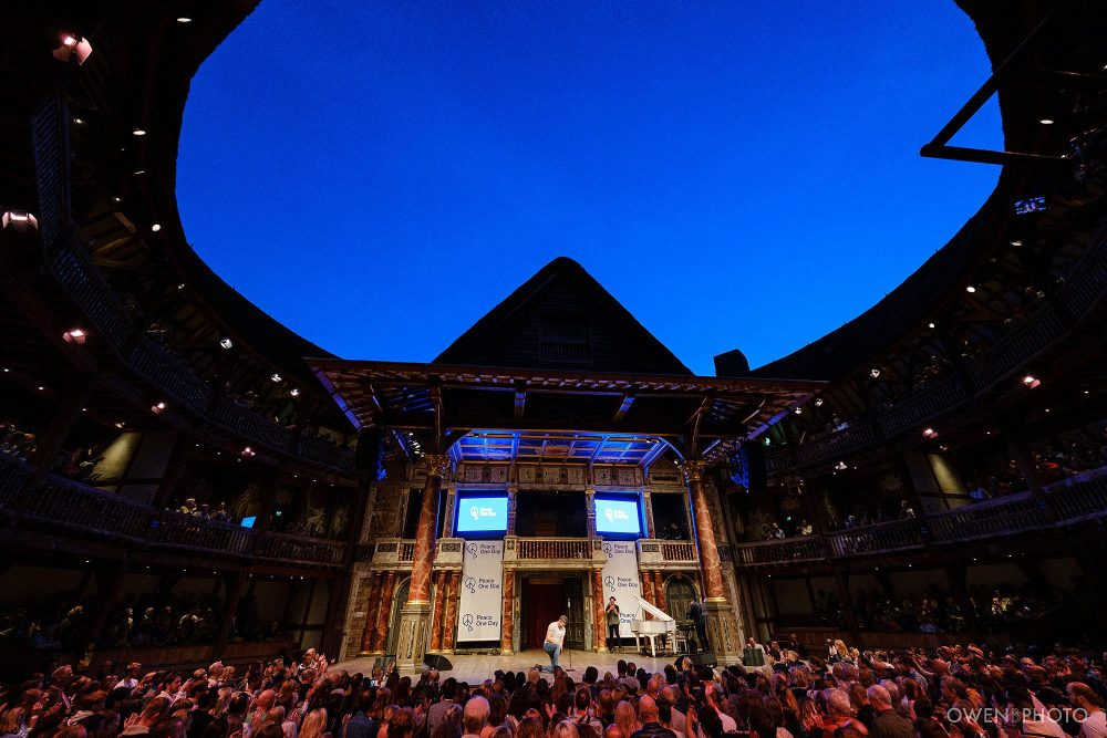 london concert photographer globe theatre peace one day 025 1000x667 - Peace One Day 2019 at The Globe