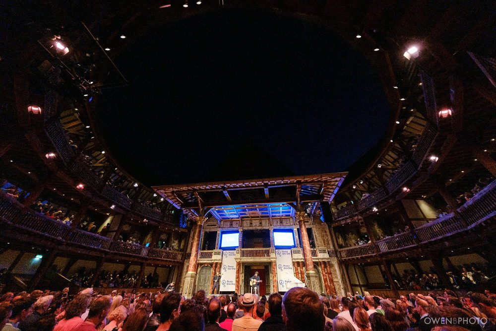 london concert photographer globe theatre peace one day 036 1000x667 - Peace One Day 2019 at The Globe