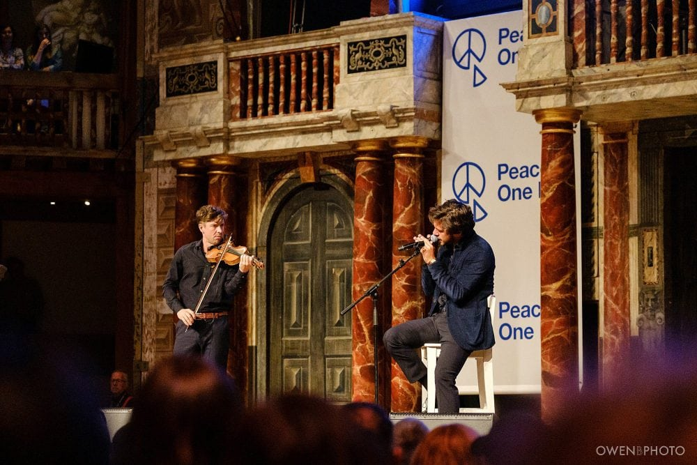 london concert photographer globe theatre peace one day 037 1000x667 - Peace One Day 2019 at The Globe