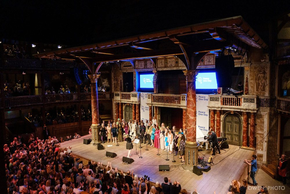 london concert photographer globe theatre peace one day 039 1000x667 - Peace One Day 2019 at The Globe