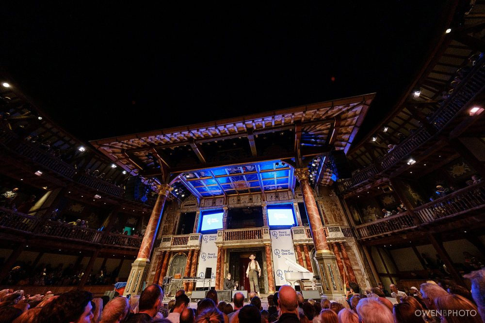 london concert photographer globe theatre peace one day 044 1000x667 - Peace One Day 2019 at The Globe