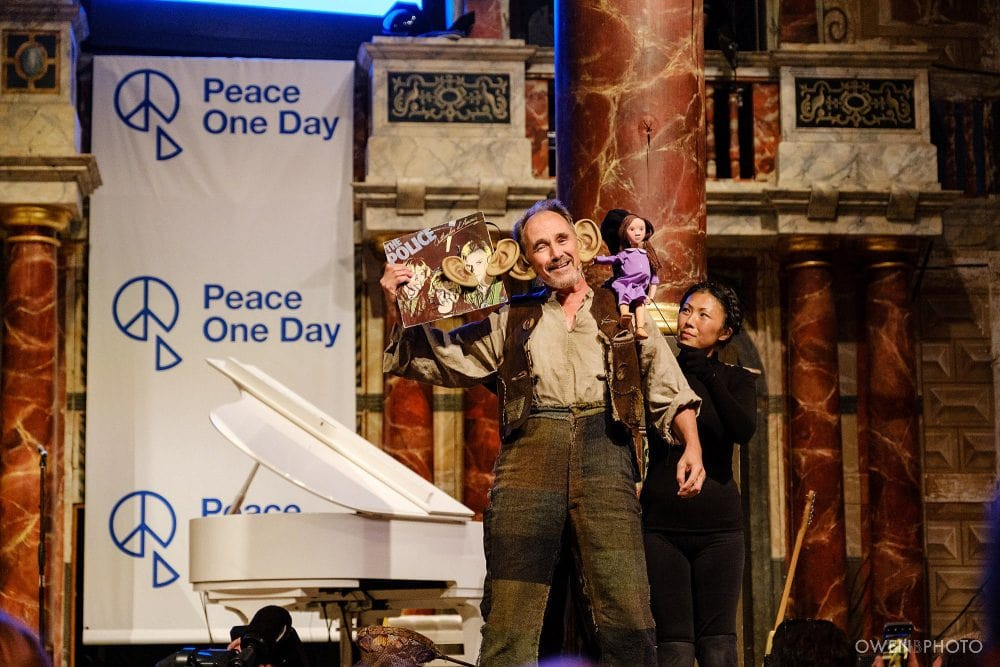 london concert photographer globe theatre peace one day 046 1000x667 - Peace One Day 2019 at The Globe
