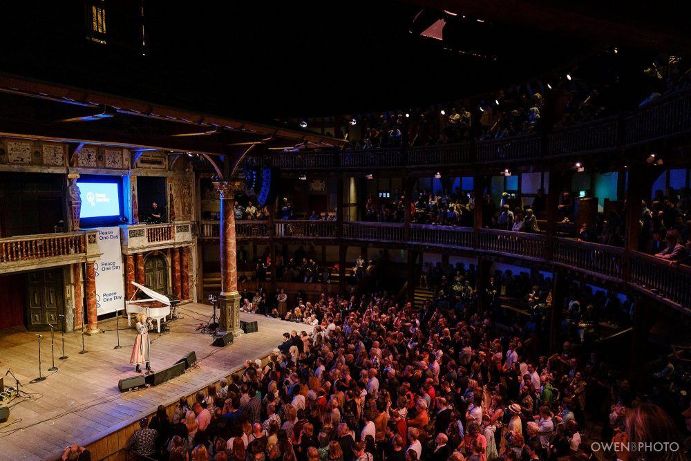 london concert photographer globe theatre peace one day 050 1000x667 - Peace One Day 2019 at The Globe