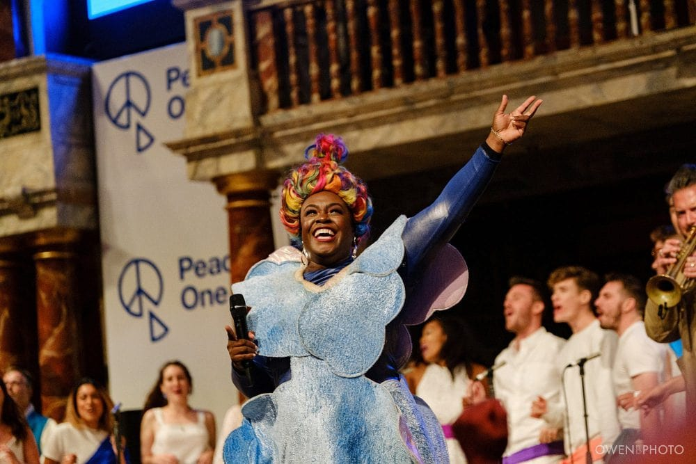london concert photographer globe theatre peace one day 061 1000x667 - Peace One Day 2019 at The Globe