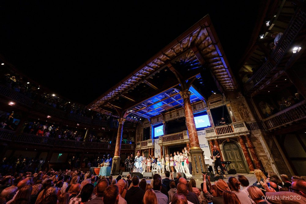 london concert photographer globe theatre peace one day 062 1000x667 - Peace One Day 2019 at The Globe