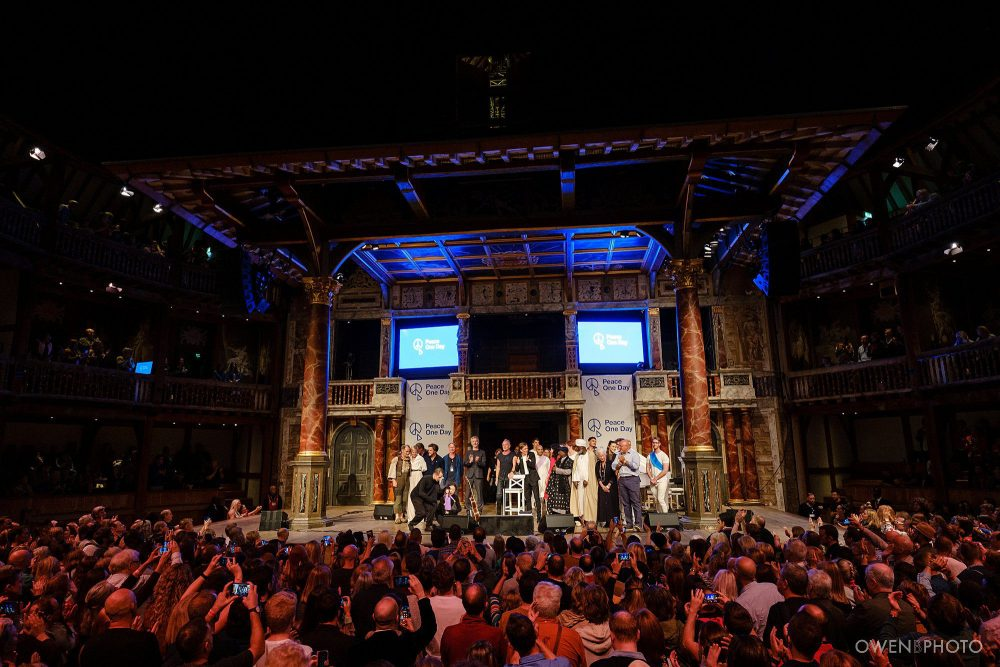 london concert photographer globe theatre peace one day 078 1000x667 - Peace One Day 2019 at The Globe