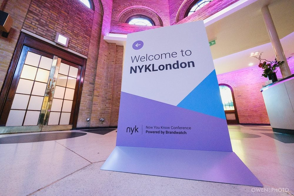 london event photographer brandwatch conference brewery 006 1000x667 - BrandWatch NYK 2019: A Conference at The Brewery
